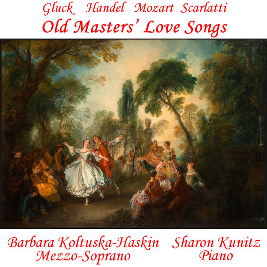 Album cover for Old Masters' Love Songs
